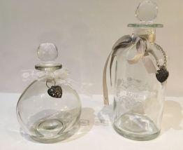 2 flacons parfumeur