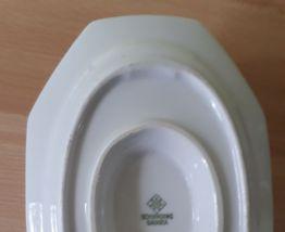 Saucière porcelaine Schirnding, Bavaria avec liseré or