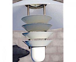 Lampe à poser design scandinave 1970 blanche