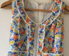 Jolie robe vintage 36