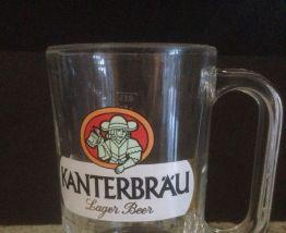 Lot de 6 verres à bières + une chope