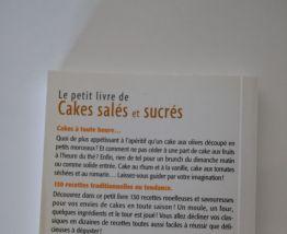 Livre recettes cakes salés et sucrés