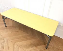 Table basse (ancien  pupitre d'écolier)