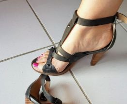Sandales cuir Giudecca
