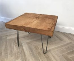 Table basse Chêne brut