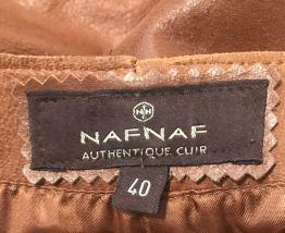 Jupe  NafNaf en cuir