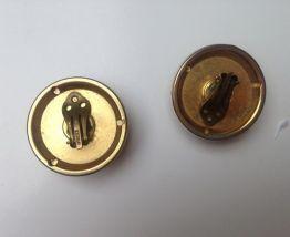 Boucles d'oreilles vintage à clips