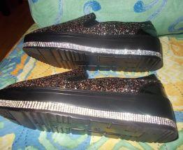 chaussure à paillettes