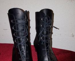 Boots en cuir noflin
