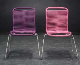 Deux chaises 'Tivoli' pour enfants