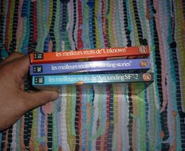 Lot de 3 Livres Jacques Sadoul - Meilleurs Récits De Unknown