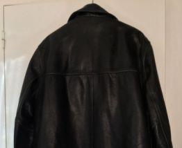 Veste cuir noir 1970 Redskins