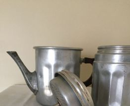 "Cafetière ""italienne"" en aluminium"