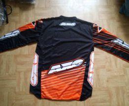 T-shirt de moto AXO orange