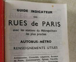Guide des rues de Paris