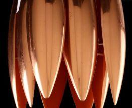 Plafonnier en cuivre « Kastor »