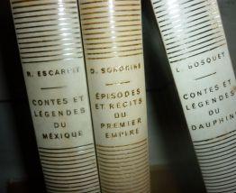 Lot : 3 livres Contes et Légendes- Mexique, Dauphiné, Empire