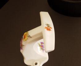 Patère en porcelaine céramique