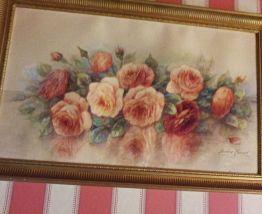 TABLEAU MADELEINE RENAUD Les Roses