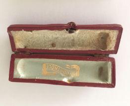 Fume cigarette ivoire et or ancien