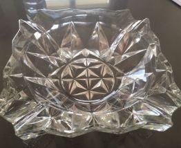 Cendrier carré en verre Veropa
