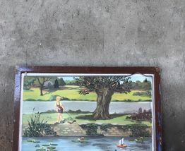 Tableau de 12 cartes Rossignol vintage
