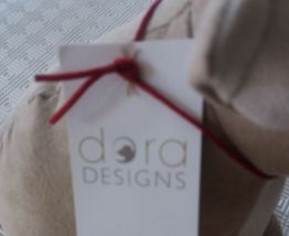 Cale porte chien bouledogue Dora Design