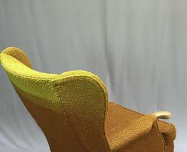 Fauteuil à oreilles inspiré du modèle de Parker Knoll