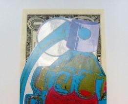 Blue Dom Perignon Grenade