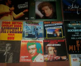 LOT DE DISQUES DE EDDY MITCHELL