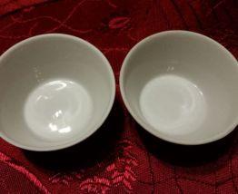 Salières en porcelaine U.R.S.S. 1990 neuves