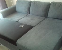 Canapé d'angle convertible réversible 4 places
