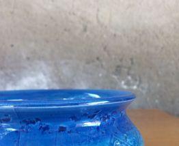 Vide poche en céramique bleu vintage