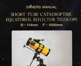 "Telescope ""SHOGUN"" Tube catadioptric+trépier rétractable"