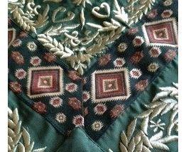 Nappe carré libanaise originale brodée main