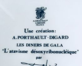 """Assiette de collection Salvador Dali """"Les Dîners de Gala"""""""