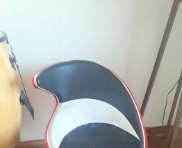 Paire de fauteuil coquilles