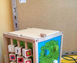 Cube d'activités Kidkraft