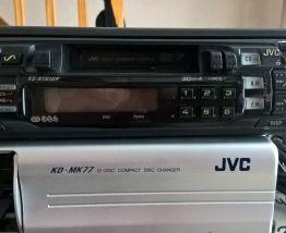 AUTORADIO JVC CHANGEUR CD