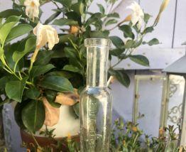 Topette Fiole en verre