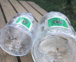 Lot de 2 flacons vides Guerlain