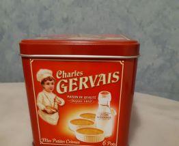 Boîte en métal Charles Gervais, édition limitée