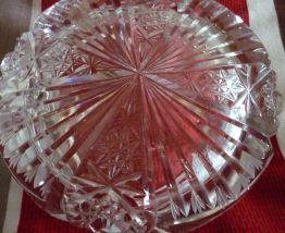 Gros cendrier en verre
