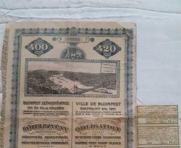 Obligations de 1911 et 1927
