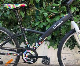 Vélo B'TWIN  Fille  8/12 ans