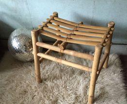 Tabouret en bambou