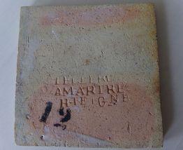 10 CARREAUX DE MARTRES TOLOSANE LECLERC ANCIEN