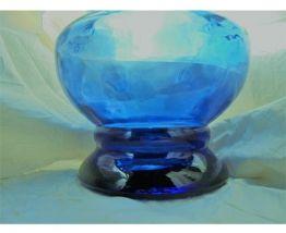 Grand vase bleu