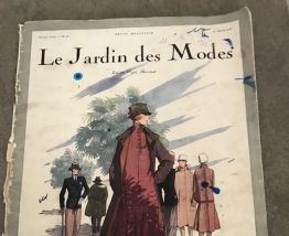 lot magazine de mode ancien