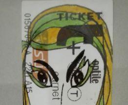 Portrait Ticket  #11